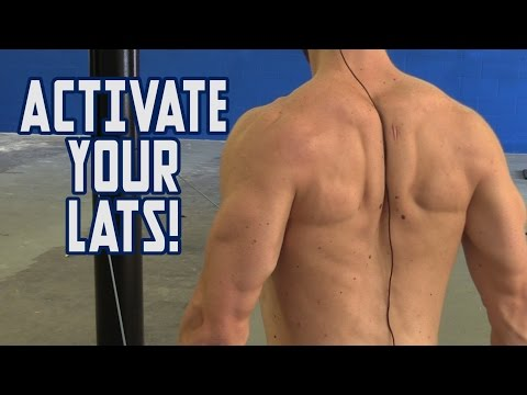Lat Activation Exercises - How to FIRE UP those Back Muscles!