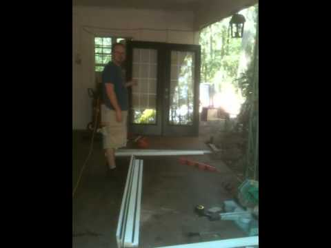 Framing for French doors