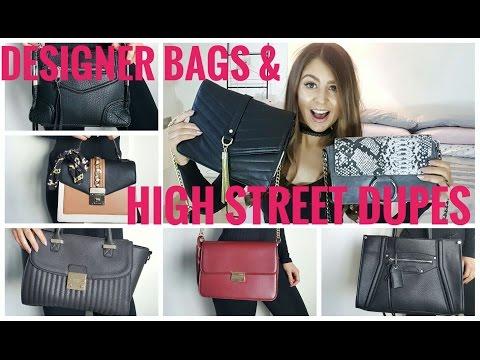Designer Bags & High Street Dupes: Featuring CHLOE, YSL, CELINE!