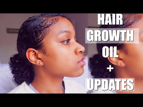 My Hair Growth Oil + Channel Updates|NATURAL HAIR