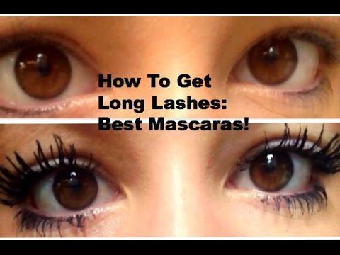 How To Make Your Eyelashes Long And Thick: What Mascaras To Use!