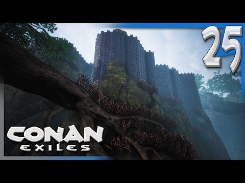 THIS BASE IS NOT ENOUGH. | Conan Exiles Multiplayer Gameplay/Let's Play S4E25