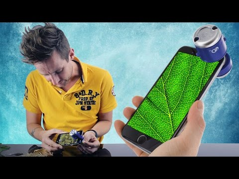 HOW TO: Discovery Channel Smartphone Microscope   Paladone
