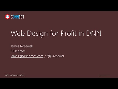DNN Connect - Web Design for Profit - Device Intelligence and Image Optimisation in DNN
