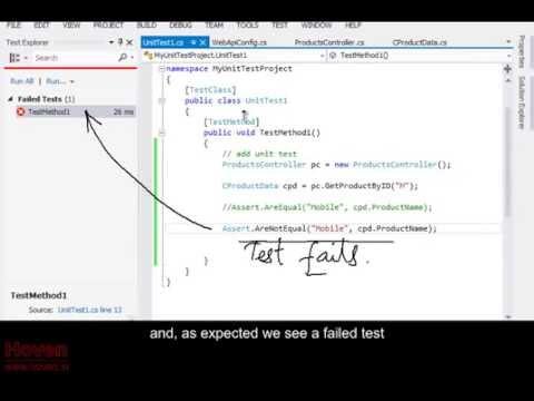 Part 3 - Unit testing an ASP.NET MVC WebApi Project | Buy MVC Video Tutorials