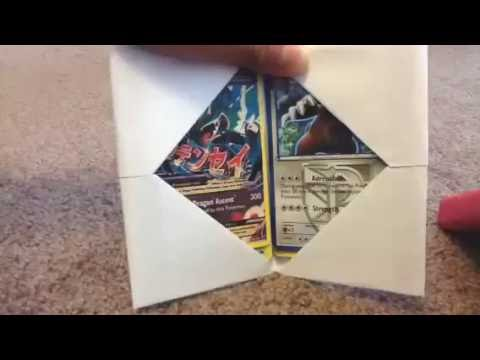 How to make a Pokemon card holder -EASY