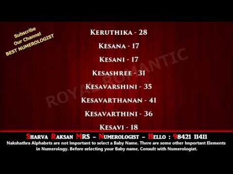 GIRL BABY NAME STARTING WITH K SERIES 3 - BEST NUMEROLOGIST IN DUBAI MALAYSIA KUWAIT 9842111411