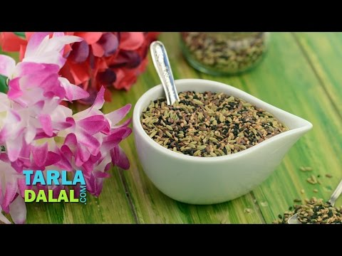 Multiseed Mukhwas ( Omega 3 Fatty Acids and Fibre Rich, Healthy) by Tarla Dalal