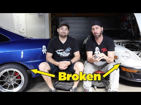 2SEXY & 240Z = BROKEN (and where's all our other cars?)