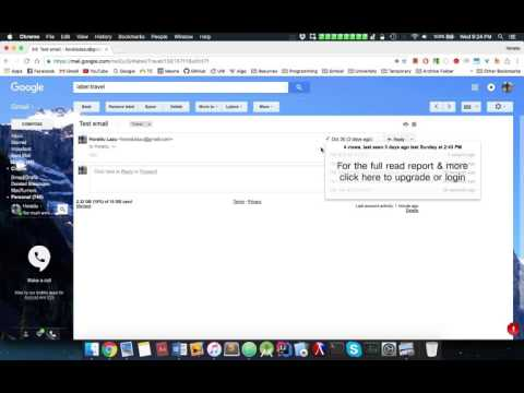 Gmail: Get notified when your email was opened/read (free pixel tracker)