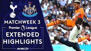 Tottenham V Newcastle PREMIER LEAGUE HIGHLIGHTS 82519 NBC Sports