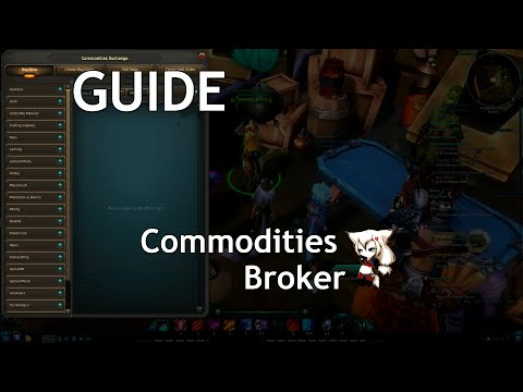 Wildstar guide (2015). Commodities exchange overview. How to buy and sell commodity.
