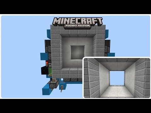 Minecraft SEAMLESS, DOUBLE SIDED and TINY, 4x4 Vault door (PE/Xbox/Windows10/Switch)