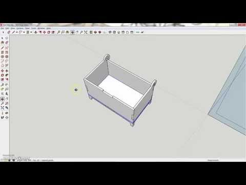 Making a box with a laser-cutter - Step 3A - Making a cut file with SketchUp