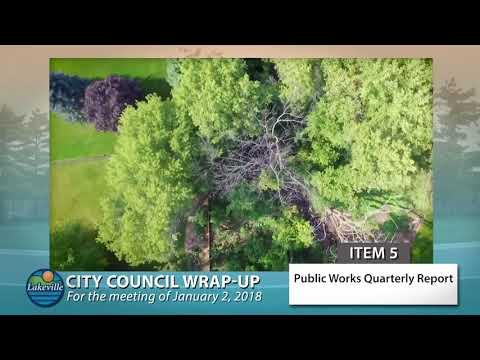 Lakeville City Council Wrap Up 01-02-2018