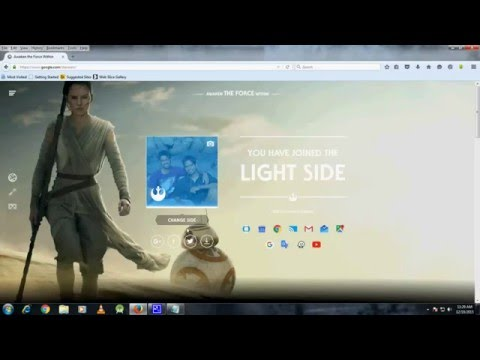 How To Enable or Disable Star Wars Theme On Google, Google Plus