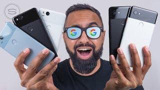 Google Pixel 2 vs Pixel 2 XL UNBOXING