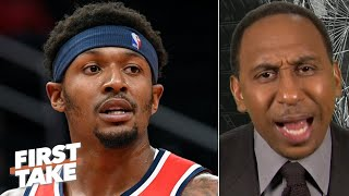 Stephen A. is incredibly sad for Bradley Beal: The Wizards are going to stink!   First Take