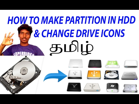 How to partition a hard drive on Windows -7/8/8.1/10.. TAMIL- Jeffraj