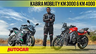 Kabira Mobility KM 3000 & KM 4000 - e-motorcycles you've not heard of | First Ride | Autocar India
