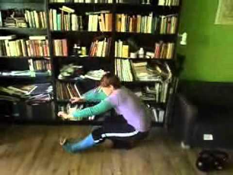 training with a broken leg