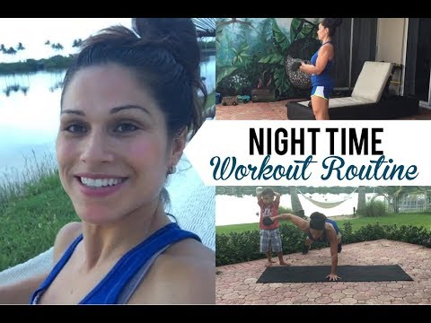Nighttime Workout Routine || Home Fitness