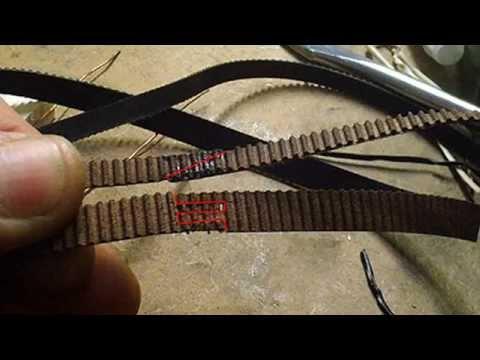 3D Printer - loop or enlarge a short loop teeth (toothed) belt - Z axis w/ only 1 stepper motor