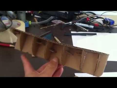 Scratchbuilding a model boat hull #1