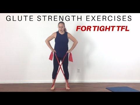 Gluteus medius exercises to release tight TFL
