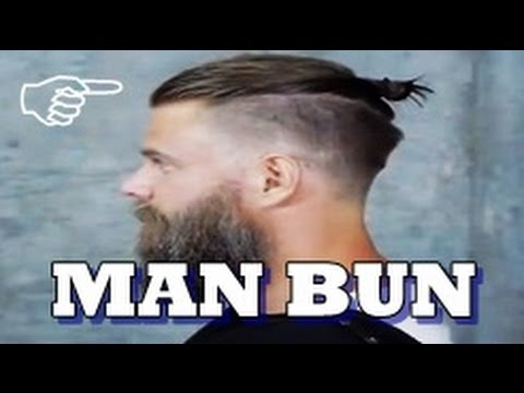Haircut hipster Man Bun 2017   undercut samurai