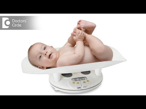 How much weight should a healthy baby gain?- Dr. Jyothi Raghuram