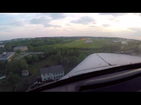 PA28 Cherokee Warrior   Beverly, MA to East Hampton, NY   ATC