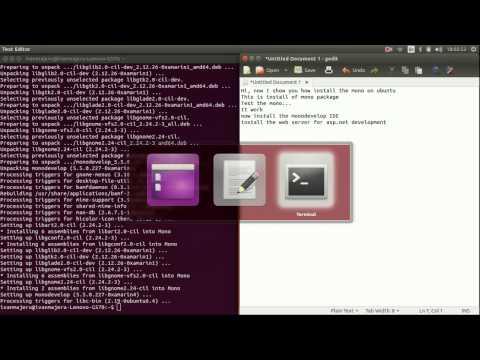 C# and ASP.NET on Ubuntu