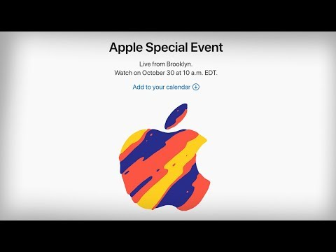Apple October Event 2018 - What to Expect