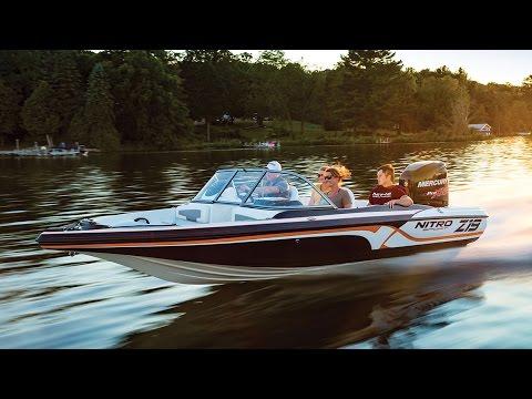 NITRO Boats: Z19 Sport Fish and Ski Boat