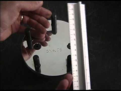 How to Measure a Bolt Circle Front Wheel Hub - WeldRacing