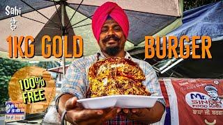 Rs 1000 ka GOLD BURGER | Street Food India | Most Expensive Street Food