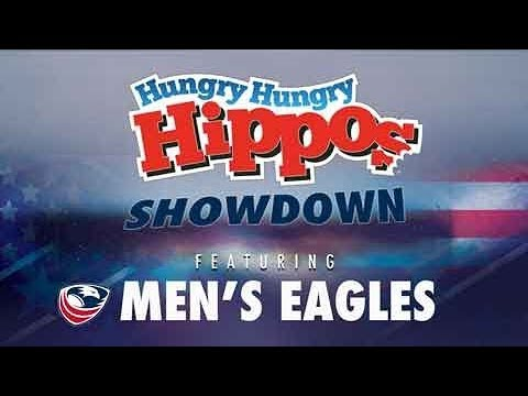 Men's Eagles Hungry Hungry Hippos Showdown