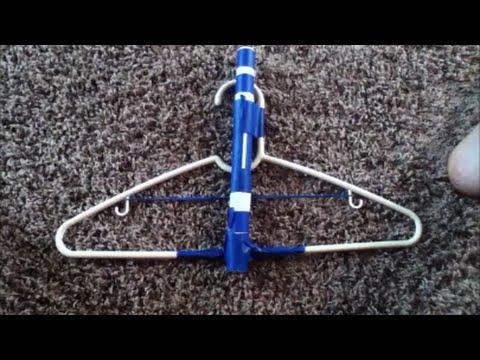 DIY: Homemade Hanger Crossbow