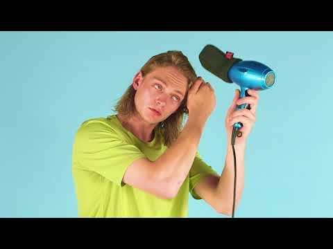 How to style wavy hair 3 ways | ASOS Menswear grooming tutorial