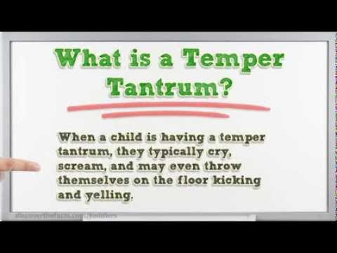 How To Deal With Toddler Tantrums | What Causes Toddler Tantrums and What Can You Do?