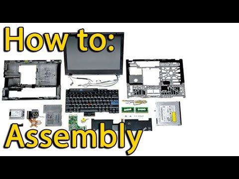 Asus X551 backward assembling process