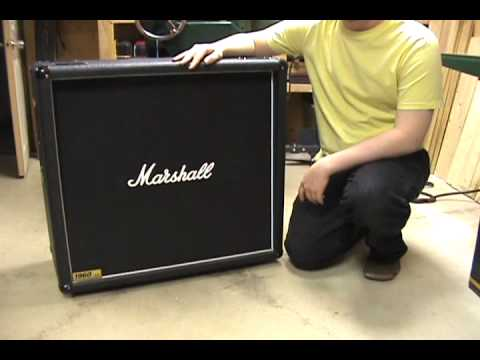 Alexander James - Marshall 1960 B 4x12 Speaker cabinet impedance