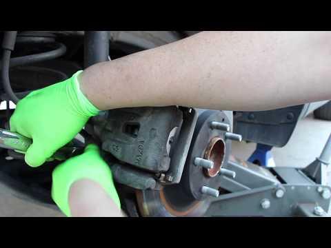 2015 Mazda CX-5 Rear Brake Replacement