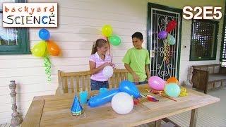 Backyard Science | S2E5 | Spinning dizzy balloons