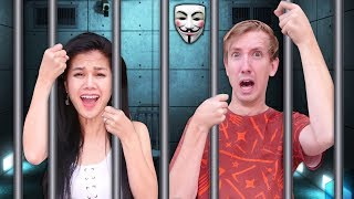 PROJECT ZORGO TRAPPED US in ABANDONED PRISON (Doomsday Date & Escape Room Challenge Mystery Riddles)