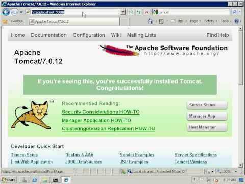 How to connect Tomcat 7 and IIS7