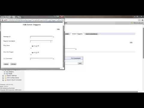 IBM Datapowerv - Configuring Log Target