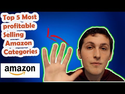 Top 5 Most profitable Selling Amazon Categories