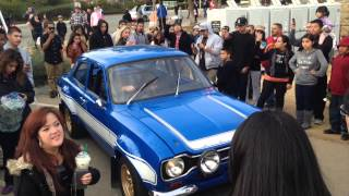 Fast and Furious 6 Paul Walkers Ford Escort
